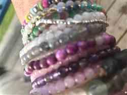 Robin K. verified customer review of Charoite Mini Energy Gemstone Bracelet