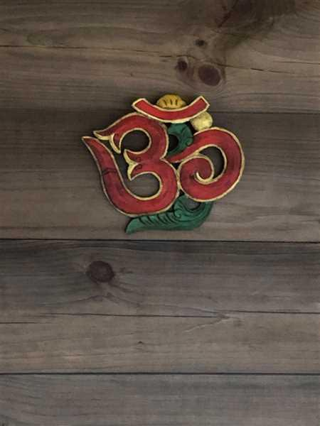 Kathy McKernan verified customer review of Carved Om Wall Hanging