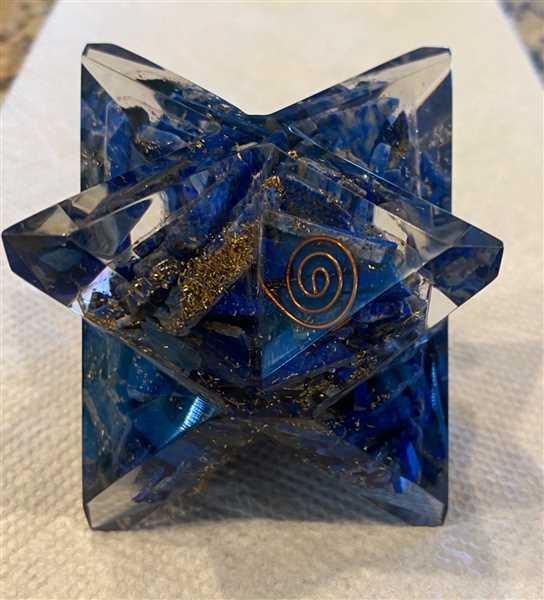 Veronica LaChapelle verified customer review of Orgone Lapis Merkaba - Large