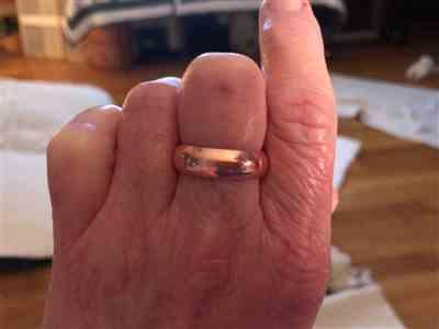 kim clark verified customer review of Copper Healing Ring