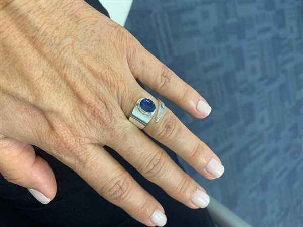 Sivana Blue Kyanite Silver Ring Review