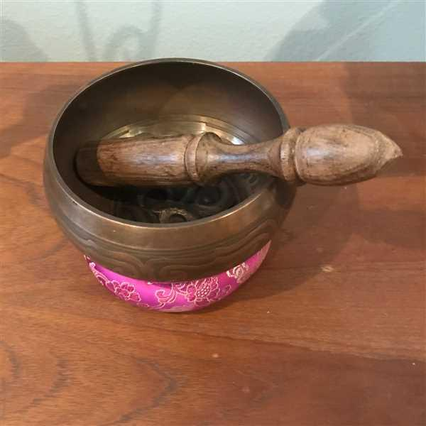 Debra Comstock verified customer review of Seven Metal Singing Bowl - 5 inch