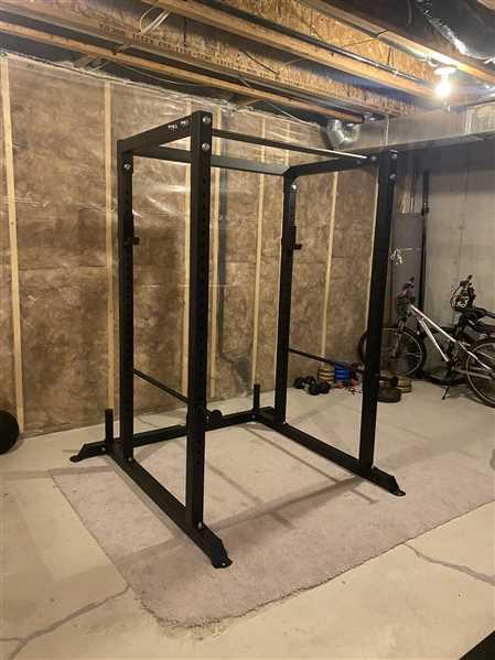 Joshua Tavora verified customer review of Power Rack 4.1 - Residential Squat Rack By B.o.S.