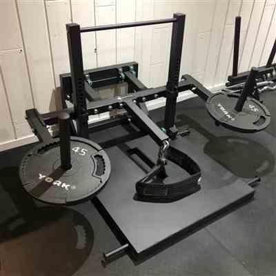 Kevin Bailey verified customer review of Belt Squat Machine - Box 2