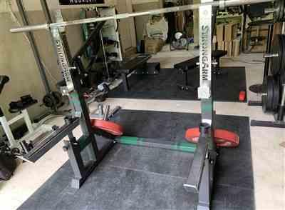 Anonymous verified customer review of Combo Squat Rack / Bench Press 3.1