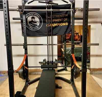 joshua j. verified customer review of Lat Pulldown / Row Attachment - Residential Power Rack