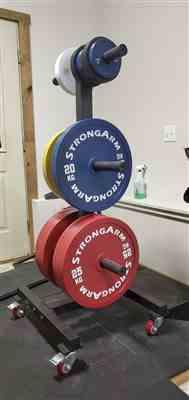 Patrick Y. verified customer review of Calibrated Powerlifting Plate Sets by StrongArm