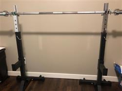 Kevin J. verified customer review of Squat Stands 2.0 By B.o.S.