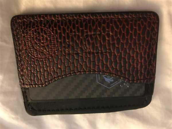 Southern Trapper The First Mate Beaver Tail Credit Card Holder Wallet Review