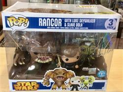 PPJoe Pop Protectors PRE-ORDER: PPJoe Star Wars 3 Pack Pop Protector (Rancor), Rock Solid Funko Vinyl Protection Review