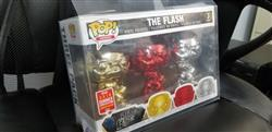 Anonymous verified customer review of PRE-ORDER: PPJoe Chaser Pack (fits 2 single pops) Pop Protector, New 0.40mm Thickness, Rock Solid Funko Vinyl Protection