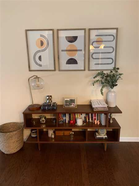Jenna Bateman verified customer review of Abstract Block Print Framed Triptych