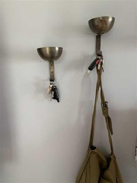 Holistic Habitat  Antique Brass Catch-All Hooks Set of Two Review