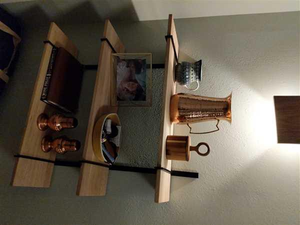 Holistic Habitat  Minimalist Oak and Metal Shelves Review