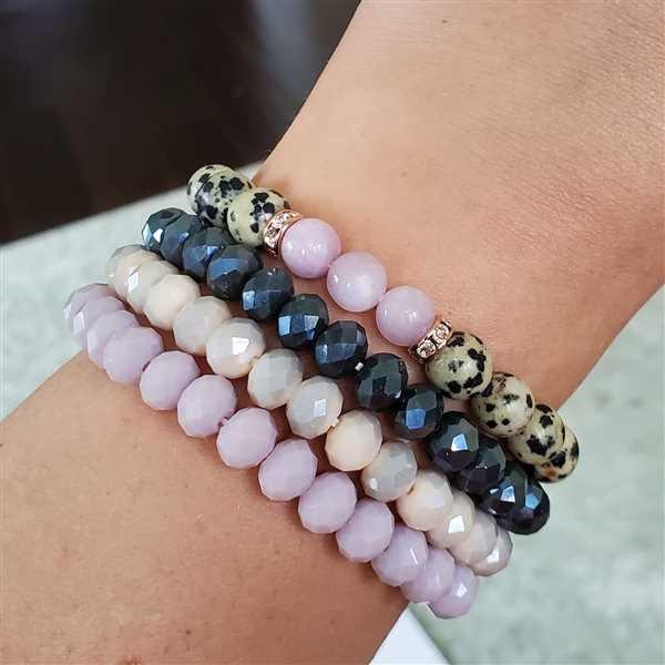 HorseFeathers Jewelry & Gifts Signature Stackers | Czech Glass Layering Bracelet Review