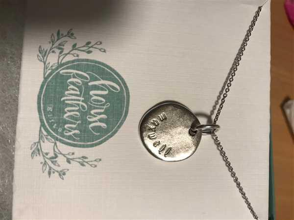 HorseFeathers Jewelry & Gifts Tiny Initials | Custom Stamped Charm Necklace Review