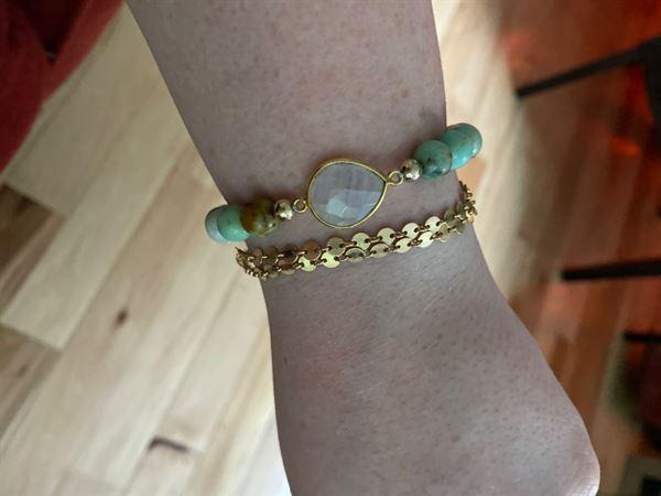 HorseFeathers Jewelry & Gifts Intuition | Moonstone + Mongolian Turquoise Bracelet Review