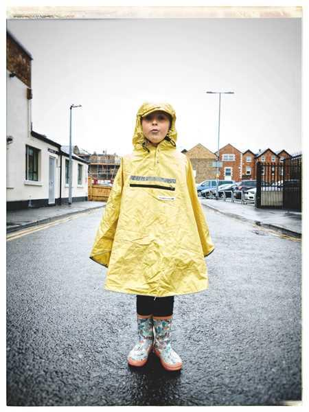 The People's Kids Hardy Fisherman's Yellow Poncho Review