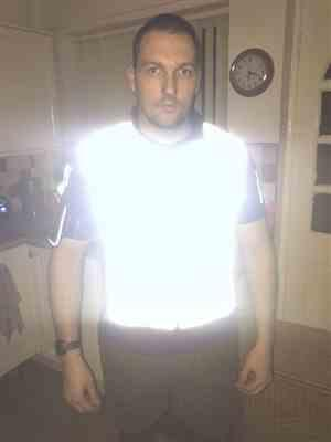 Steven B. verified customer review of BTR High Visibility & Totally Reflective Running & Cycling Gilet & Vest
