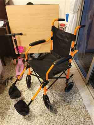 Michael L. verified customer review of HappyWheels Travel Chair Portable Wheelchair