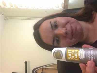 Anonymous verified customer review of Amber & Sandalwood Natural Roll-On Deodorant