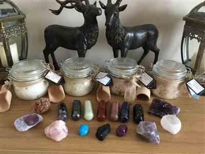The Psychic Tree Himalayan Bath Salt Gift Jar - Skin Revive Review
