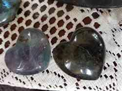Debbie W. verified customer review of Large Fluorite Heart Healing Crystals