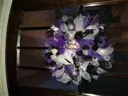 Kim N. verified customer review of Wreath - Overdose Colors - Purple, Black & White