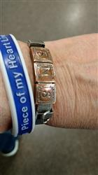 BethBeth S. verified customer review of Wristband - Piece of My Heart Lives In Heaven - www.HeroinMemorial.org - I Miss You