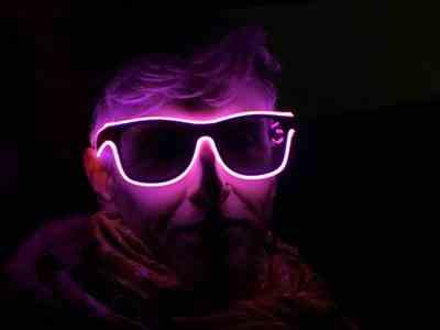 Claire Watson verified customer review of Light up LED Glasses - Pink
