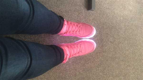 Flash Wear Flash Wear High-Top Pinks Review