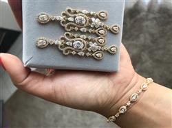 Anonymous verified customer review of Daisy Marquise Tennis Bracelet