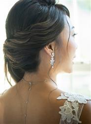 Janice Y verified customer review of Marquise Chandelier Earrings