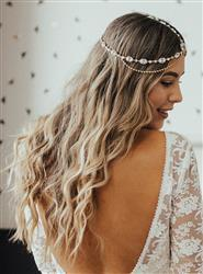 Brianna  verified customer review of Jules Tiered Crystal Headpiece