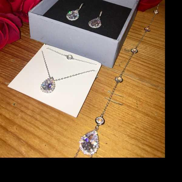 Roxanna Perez-Pineda verified customer review of Margaux CZ Jewelry Set