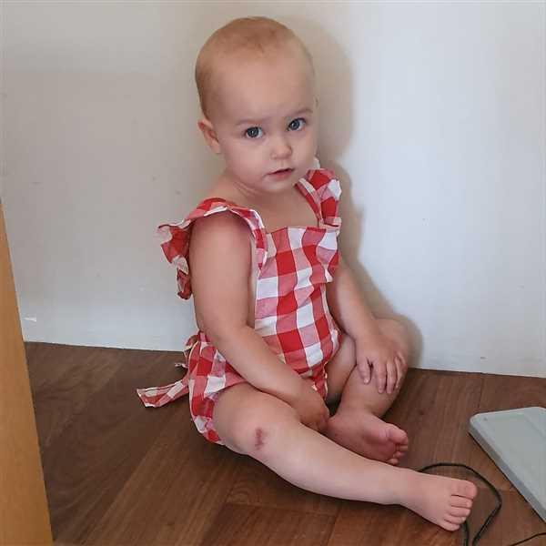 Hazel & Bo RUBY Romper with Bow Tie Review