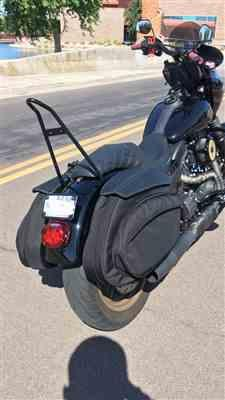 Eric M. verified customer review of Leather Pros Retro Series V3 DYNA Saddlebags