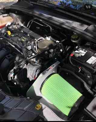 Jordan ziegler verified customer review of FSWERKS Green Filter Cool-Flo Air Intake System - Ford Focus Duratec TiVCT 2.0L 2012-2018
