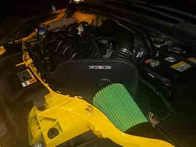Jule Sims verified customer review of FSWERKS Green Filter Cool-Flo Plus Air Intake System - Ford Focus ST 2013-2018