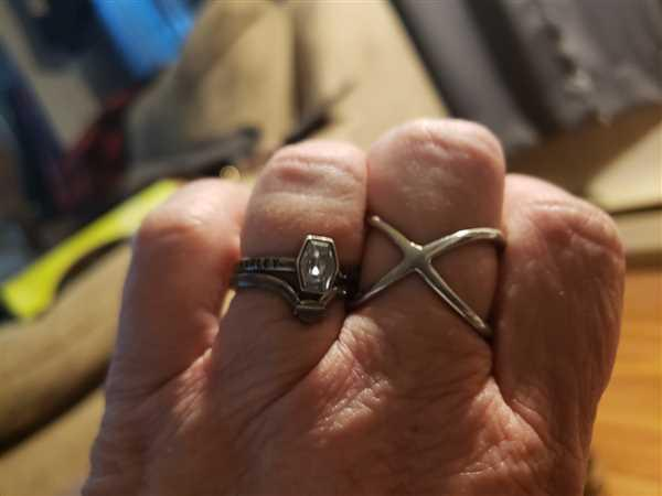 Elevated Faith Silver Crossover Ring Review