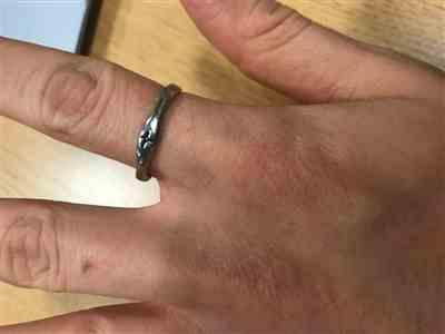 Katharine Jackovich verified customer review of Cross Ring