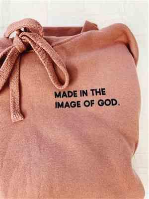 Gabby M. verified customer review of Made in the Image of God Unisex Hoodie
