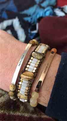 Nicholas H. verified customer review of Faith Over Fear Bracelet