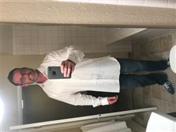 Brent B. verified customer review of The Oskar Tall Dress Shirt in White