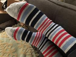 Anonymous verified customer review of Men's XL Dress Socks (Size 14-17) | 3-Pack A