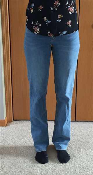 Anonymous verified customer review of Slim Straight-Leg Tall Women's Jean in Monaco Faded