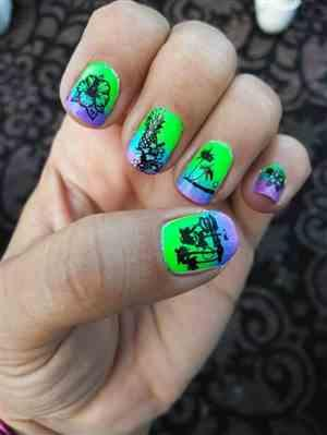Laurel L verified customer review of Weekend Warrior Creative Art Stamping Polish Collection