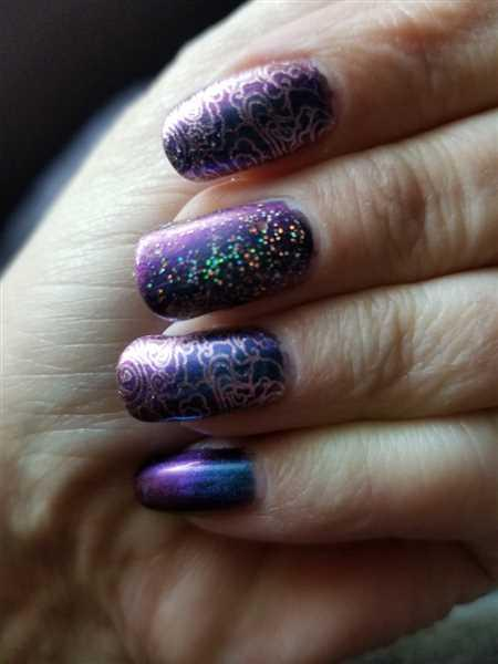 Maniology Grimm's Nightfall: 6-Piece Master Set - Duochrome Creative Art Stamping Polish Collection Review