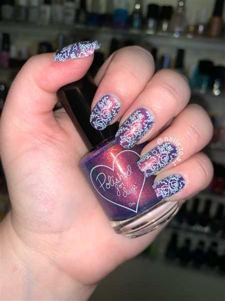 Maniology Artist Collaboration: justagirlandhernails (M005) - Single Plate Review