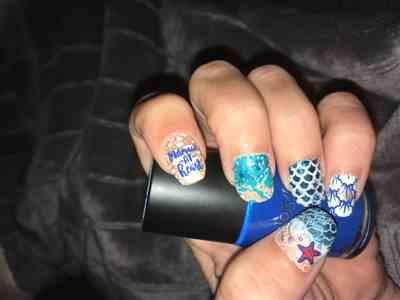 Billie W. verified customer review of Artist Collaboration: justagirlandhernails (M005) - Single Plate